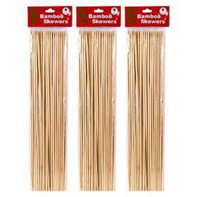 Бамбукові палички для барбекю і гриля 35см*4мм X1-230