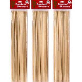 Бамбукові палички для барбекю і гриля 40см*4мм X1-231