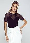 Блузка Neri Eldar черного цвета, коллекция весна-лето 2021.