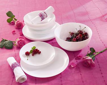 Сервиз столовый белый 19пр Luminarc Diwali h5869/P2951