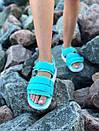 Женские стильные сандалии Adidas, три цвета, фото 4
