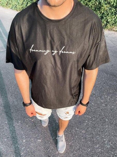 Стильна чоловіча футболка, Туреччина (два кольори)