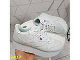 Кроссовки белые на высокой подошве колассика 36, 38, 39, 41 р. (2417), фото 8
