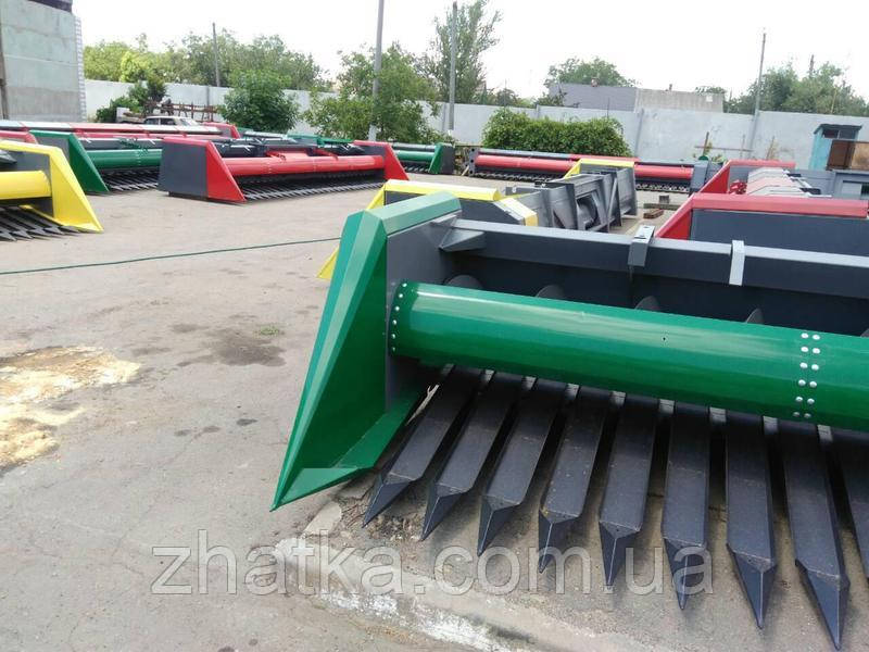 Жатка приставка для уборки подсолнечника ЖСН-6м, безрядковая, скоростная (Zaffrani)