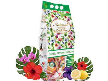 Наполнитель в лоток Indian Cat Litter Cat's Choice Exotic Flowers - Экзотические цвета, 5 кг