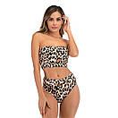 Женский раздельный леопардовый купальник жіночий роздільний купальник, фото 2