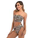 Женский раздельный леопардовый купальник жіночий роздільний купальник, фото 3