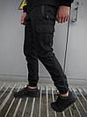 """Чоловічі штани чорні Intruder """"Flash Light"""", фото 3"""