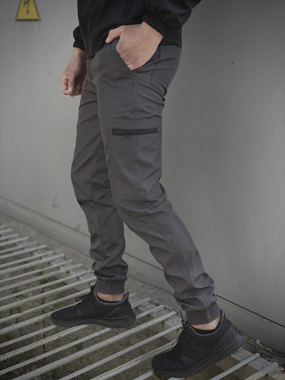 """Мужские штаны серые Intruder """"Softshell Light"""""""