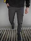 """Мужские штаны серые Intruder """"Softshell Light"""", фото 2"""