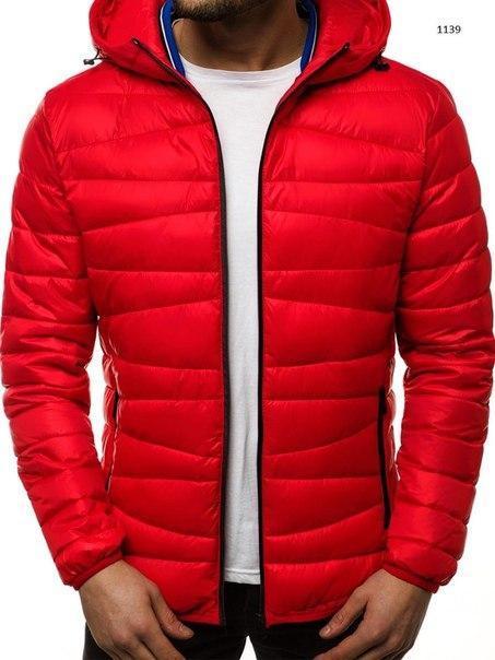 Мужская демисезонная куртка до -10, три цвета