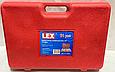 """Набор больших головок LEX 3/4"""" 12 граней 19-50 мм 21ед. POLAND, фото 4"""