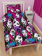 Подростковый комплект постельного белья Viluta ткань Ранфорс Monster High Монстер хай