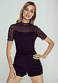 Eldar блуза Melania черного цвета. Коллекция весна-лето 2021