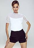Eldar блуза Melania белого цвета. Коллекция весна-лето 2021