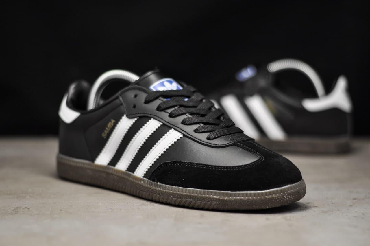 Adidas Samba White Black (Білий)