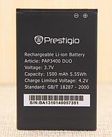 Оригинальный аккумулятор (АКБ, батарея) для Prestigio MultiPhone 3400 Duo