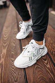 Жіночі кросівки Adidas Ozweego Adiprene pride White