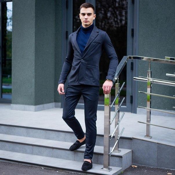 Модний чоловічий костюм Pobedov Suits «Top» (6 кольорів)