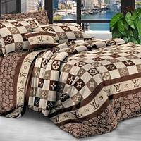 Комплекты постельного белья Семейный Бязь Gold, Турция, Качественный