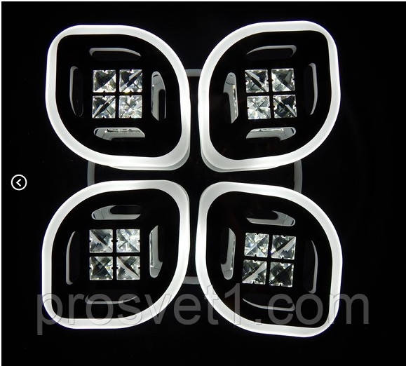 Современная светодиодная люстра 6012/4 CH ЛС