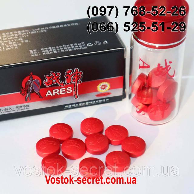 Таблетки ARES (АРЕС)