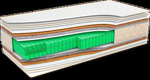 Матрас ортопедический Мusson Оптима Кокос 160х200 см (34722), фото 2