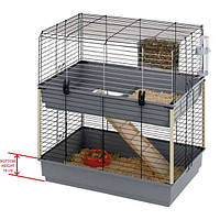 Клетка для грызунов CAVIA 80 DOUBLE.80*50*84 см.