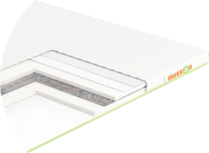 Тонкий матрас Musson Футон-Soft 115x190 см (8277), фото 2