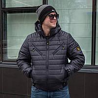 Мужская куртка осень-весна от производителя 48-58 синий