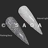 Гель-лак Феєрія від Saga Fiery 01 (світловідбиваючий гель-лак), фото 3