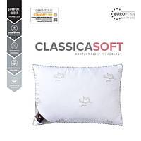 Якісна подушка для сну 50х70см однокамерна Classica Soft аналог лебединого пуху, фото 1
