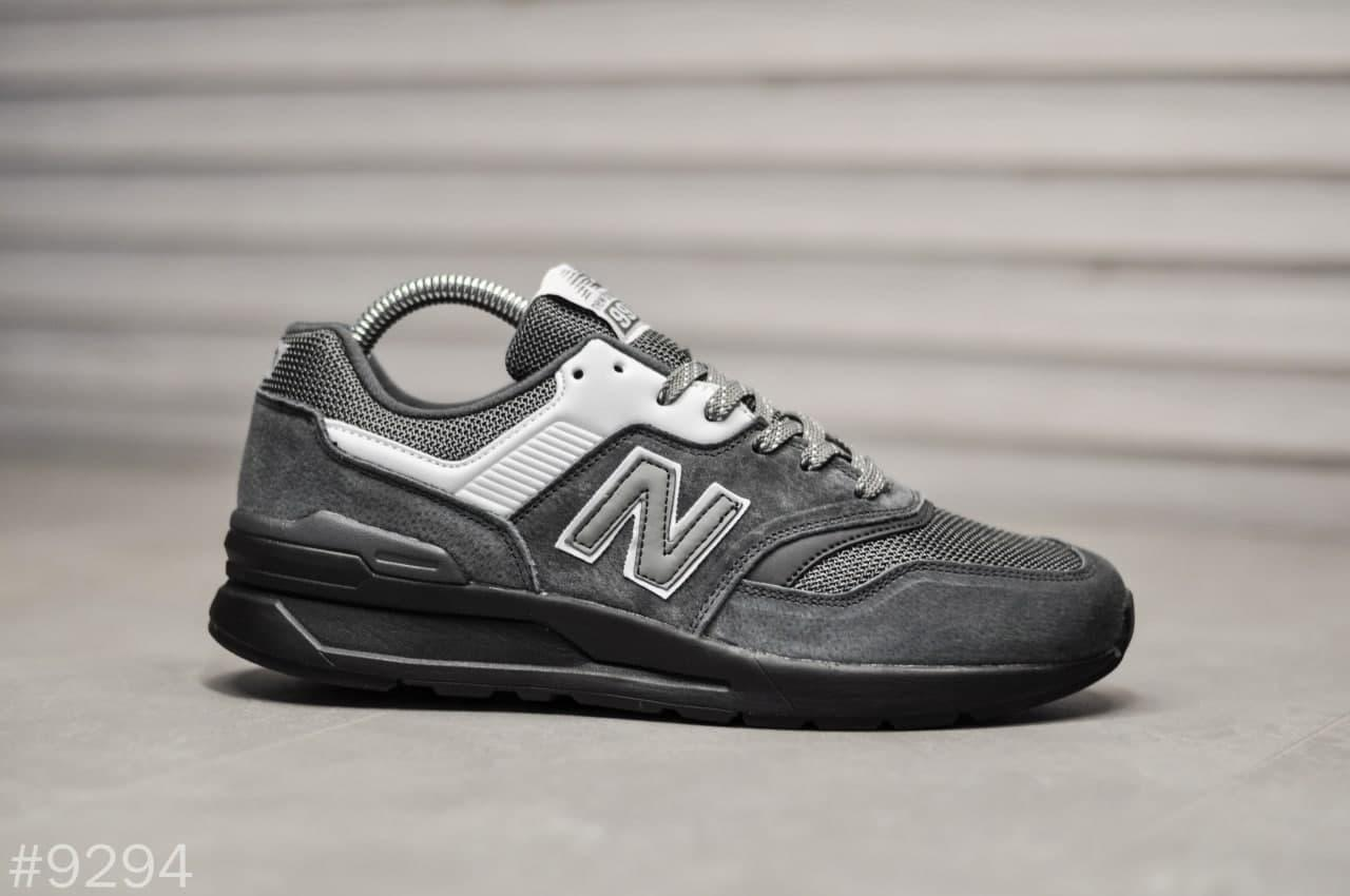 Кроссовки New Balance 997H Gray Black весна   осень 41   42   43   44   45   46
