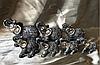 Статуетка Слони грошові, в наборі 8 шт. висота 5-8 див.