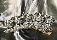 Статуетки фен шуй Слони грошові 3 шт.