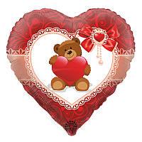 Куля серце з гелієм (Чейз, Здоровань і Маршал) двосторонній США Анаграм