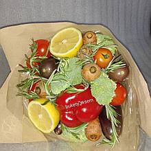 Фруктово-овочевий букет подарунковий вітальний безалкогольний