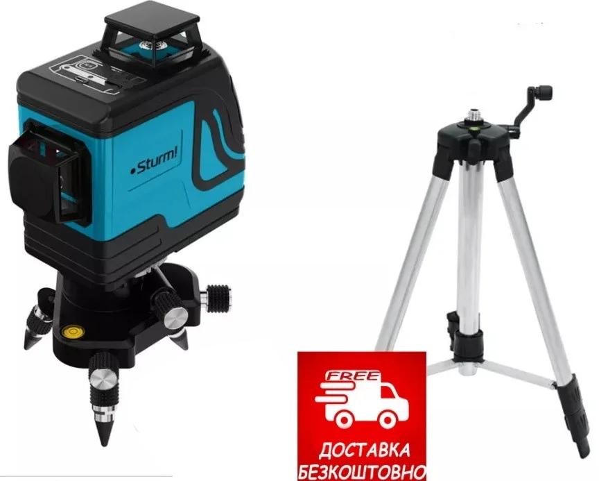 Лазерный уровеь Sturm 1040-12-GR, 12 лучей 3D лазерний рівень