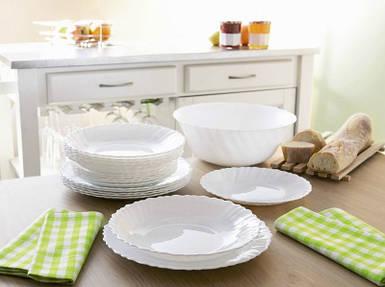 Сервиз столовый белый Luminarc Feston 19пр L5299/14977