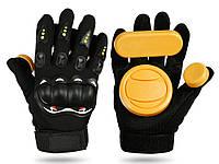 Захисні рукавички для скейтборду Palm Professional зносостійкі Тип Б
