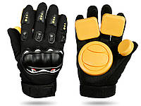 Захисні рукавички для скейтборду Palm Professional зносостійкі Тип А