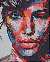 Картина по номерам 40*50 см Поп арт раскраска антистресс 40х50 см