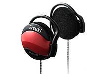 Навушники для Ipod ПК Mp3 плеєра смартфона Ersuki дротова Червоний