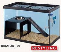 RATATOUT 60 FERPLAST - Клетка - террариум для крыс,мелких грызунов