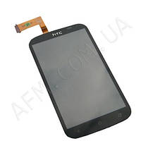 Дисплей (LCD) HTC T328e Desire X с сенсором черный