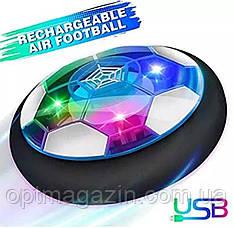 Світний диск - м'яч Football Hover Ball, фото 2
