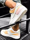 Кроссовки женские Nike Air force shadow White Grey Brown 40, разм, фото 7