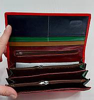 Женский кожаный кошелек Balisa PY-D144 ярко-красный Женские кожаные кошельки БАЛИСА оптом Одесса 7 км, фото 3