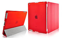 Чехол Smart Cover для Apple iPad 2 / iPad 3 / iPad 4 Red