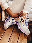 Кроссовки женские Balenciaga Triple S white purple бело-фиолетовые 39 разм, фото 2